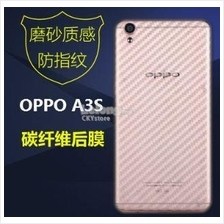 OPPO A3S Back Fiber Screen Protector