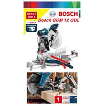 Bosch GCM 2000W 305mm Double Bevel Sliding Mitre Saw
