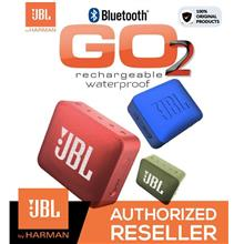 Original JBL Go 2 Ultra Portable Waterproof Bluetooth Speaker