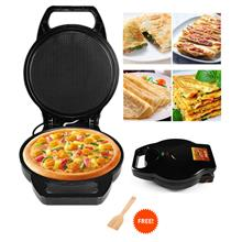 Electric Pizza Maker Omelette Baking Pan Kitchen Cooker Non Stick
