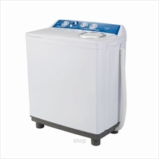 Khind Semi Auto Washing Machine White - WM700)