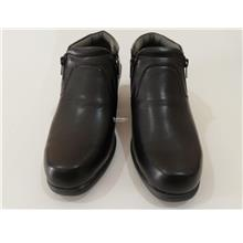 M30141 MACERIO MEN BLACK HIGH CUT BOOTS