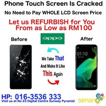 Repair Original OPPO A37 LCD Screen Touch Screen Broken OPPO A37 LCD W