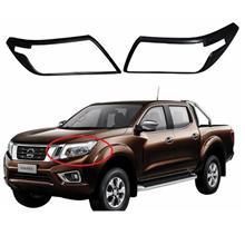 Nissan Navara NP300 2015 Head Lamp Cover Black