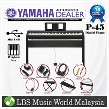 YAMAHA P-45 88 Key Without Package Digital Piano And Sustain Only (P45