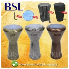 BSL Aleskandaria Darbuka Steel Body With Carrying bag Drum Skin Tuning