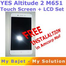YES Altitude 2 M651 Touch Screen + LCD Set with Installation