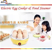 Multi-Purpose Electric Egg Cooker & Food Steamer
