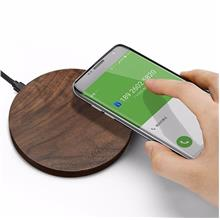 10W 2.1A Wood Qi Wireless Fast Charger Samsung Galaxy S8, S7 iPhone X