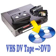 Digitalise VHS Tape to DVD Disc Transfer Conversion Services