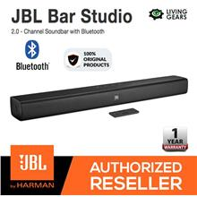 JBL Bar Studio Wireless 2.0 Channel Bluetooth Soundbar TV surround