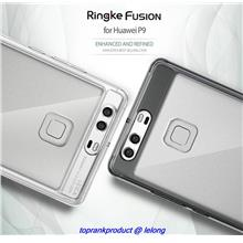 100% Rearth Ringke Huawei P9 / Plus Fusion Clear Case Cover Casing