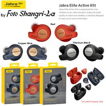 Jabra Elite Active 65t Bluetooth Wireless Earphone Headphone Music Calls  & Sp