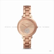 FOSSIL ES4438 Women Jacqueline 3-hand Glitz Subeye Bracelet Rose Gold