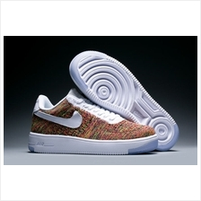 NIKE AIR FORCE FLYKNIT LOW WHITE RAINBOW