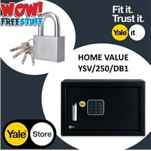 Yale YSV/250/DB1 Value Medium Home Safe