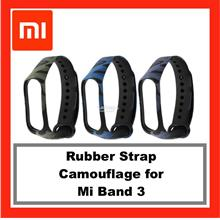 Camouflage Rubber Strap for Xiaomi Mi Band 3