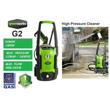 Greenworks 1400W 110Bar Electric Pressure Washer