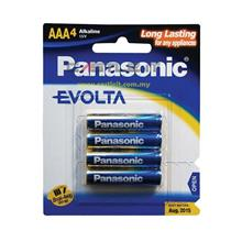 PANASONIC Battery ALKALINE EVOLTA AAA 4PCS 1.5V (LR03EGM/4B) -ORI