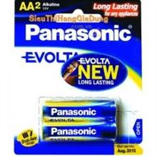 PANASONIC Battery ALKALINE EVOLTA AA 2PCS 1.5V (LR6EG/2B) -ORIGINAL