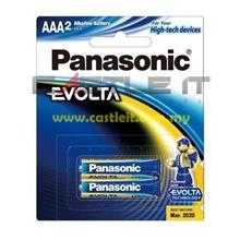 PANASONIC Battery ALKALINE EVOLTA AAA 2PCS 1.5V (LR03EGM/2B) -ORI