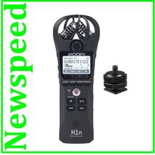 New Zoom H1n Digital Handy Sound Recorder + Mount adapter