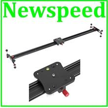 Video Slider for Camcorder Camera with smooth ball bearing