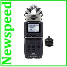 Zoom H5 Handy Recorder w/ Interchangeable Microphone + Hotshoe Mount