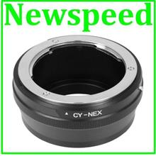 New Contax CY Yashica Lens to SONY E Mount NEX Camera Body Adapter