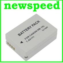 Grade A NB-10L Rechargeable Li-Ion Battery for Canon G1X G15 NB10L