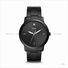 FOSSIL FS5455 Men The Minimalist Carbon Series Diamond Bracelet Black