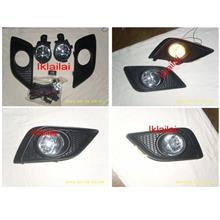 Nissan Livina '13-14 Fog Lamp Crystal With Wiring + Switch