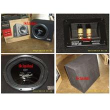 Sony 12inch Subwoofer 1000watts 300W 30cm With Woofer Box