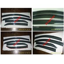 TOYOTA VIOS '07-12 Injection Type Door Visor With Chrome Lining 4pcs