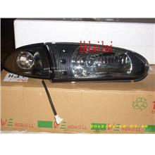 Proton Wira '93-04 Head Lamp Crystal Glass Lens W/ LED + Corner Lamp