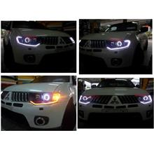 Mitsubishi Pajero Head Lamp  2-Function Eye Brown DRL [NO Head Lamp]