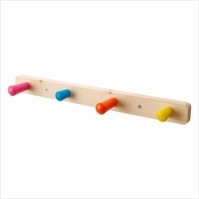 IKEA Flisat Knob Rack With 4 Knobs Child's Things Won't Fall Off
