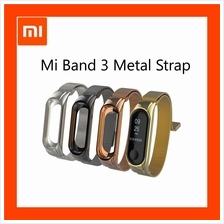 New Xiaomi Mi band 3 Steel Strap Metal Strap For Original OLED Display