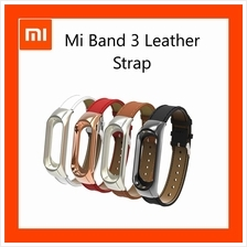 Newest Stylish Leather strap For Xiaomi Mi Band 3