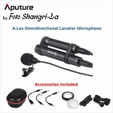 Aputure V-ALAV / A.Lav Omnidirectional Lavalier Microphone for Smartphone Came