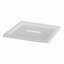 IKEA Vessla 39x39cm Lid, White Storage Crate With Castors Stackable
