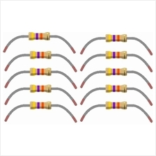 10 pcs 47k Ohm Resistors 1/4 Watt 5% Tolerance