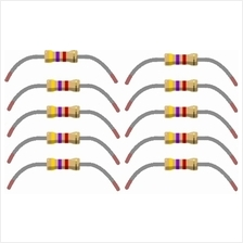 10 pcs 4.7k Ohm Resistors 1/4 Watt 5% Tolerance