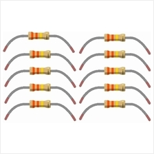 10 pcs 330k Ohm Resistors 1/4 Watt 5% Tolerance