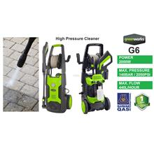 Greenworks 2000W 140Bar Induction Motor Pressure Washer