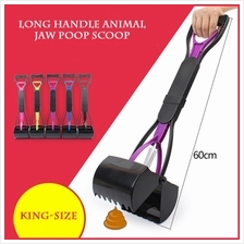 Long Handle Jaw Poop Scoop Clean Pick Up Animal Waste