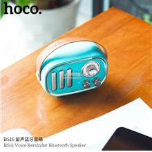 Hoco BS16 Voice Reminder Mobile Phone Bluetooth Wireless Speaker