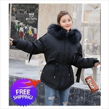 Women Hooded Thick Fur Winter Autumn Jacket