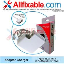 Apple Macbook 16.5V 3.65A Magsafe T-Style A1502 Adapter Charger