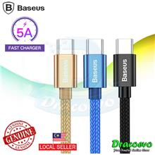 Baseus USB Type C 5A Quick Charge Fast Cable For Huawei P20 P10 P9 Mat
